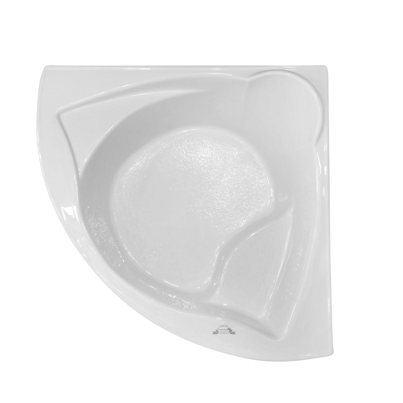 "Bathtub Installation Methods: 60"" X 60"" Corner Drop In Soaking Bathtub"