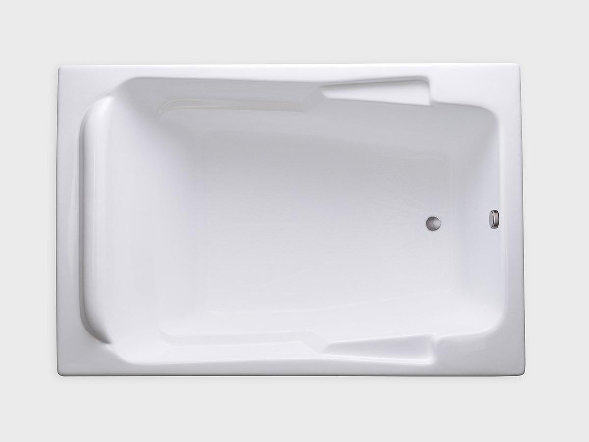 Sr7148 71 Quot X 48 Quot Rectangle Drop In Soaking Bathtub